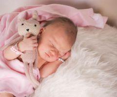 Neugeborene in Klinik